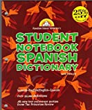 Random House Webster's Student Notebook Spanish Dictionary, Second Edition - Boy, RH Disney Staff, 0375722521