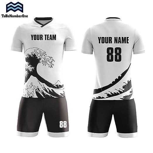0de8fbdb8ff Custom Team Sportswear Japan Away Concept Soccer Jerseys Make Your own  Uniform (S)