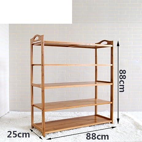 Shoe Rack Multilayer Bamboo Wooden Shoe Cabinet Modern Minimalist Shoe Rack  Storage Living Room Racks Simple