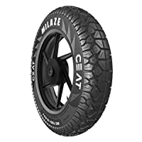 Ceat Milaze 90/100-10 53J Tube-Type Scooter Tyre,Front or Rear