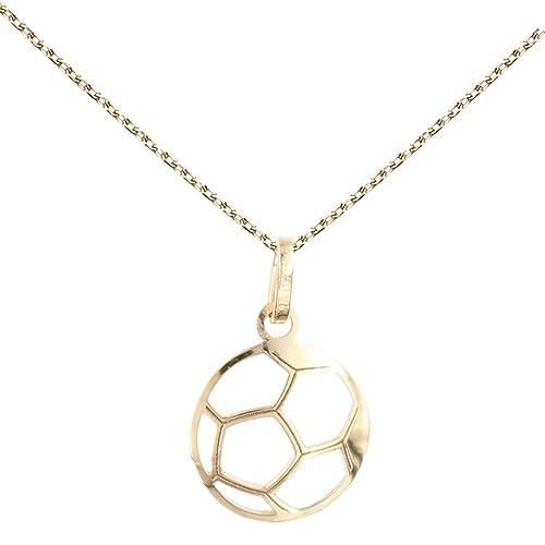 LAtelier dAzur - Collar infantil con colgante de balón de fútbol ...