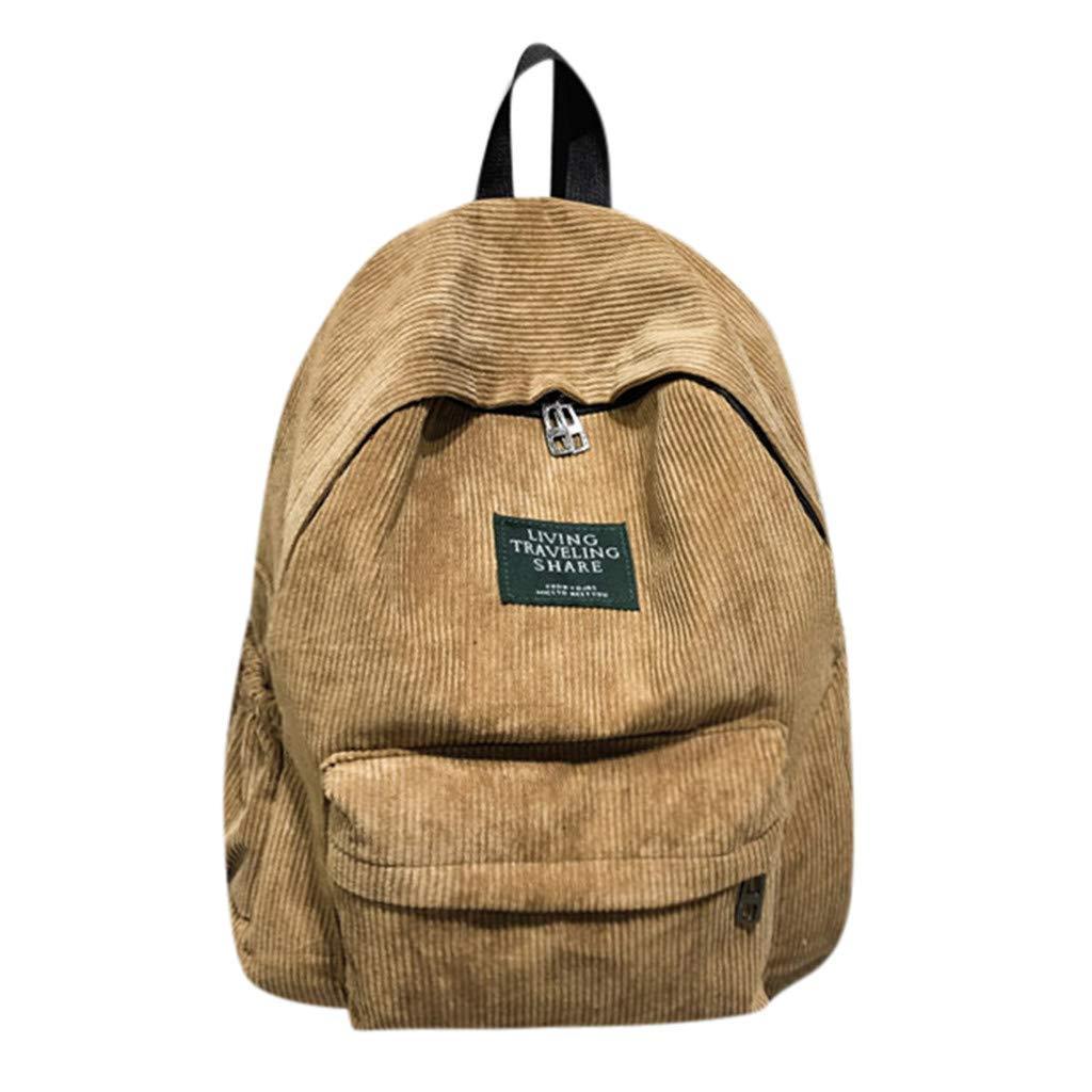 ed423075dea3 Amazon.com: Fashion Women Men Simple Solid Color Basic Bag Zipper ...