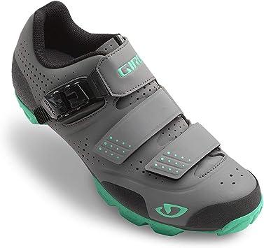 Giro Manta R - Zapatillas de Ciclismo para Mujer, Color carbón ...