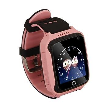 Niños Regalos – Smartwatch con SIM mando cámara, GPRS/Lbs localizador, antipérdida,