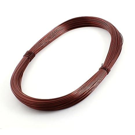 Sourcingmap - 0.95mm de cobre esmaltado de soldadura de soldadura de alambre bobinado 50 metros