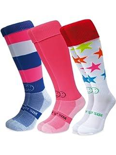 Wacky Sox Trois paires dégriffés All Stars chaussettes de sport 028558729bb