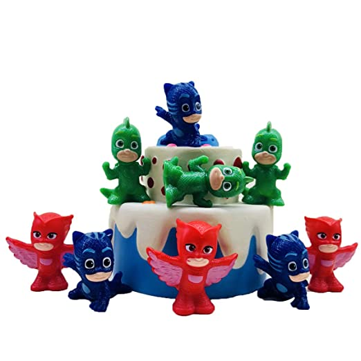 Pj Masks Cake Topper for Party and Decoration for Birthday Kids Party Baby Shower