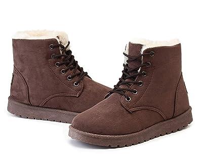 busca lo último nueva lanzamiento estilos clásicos Amazon.com | Fashion Warm Snow Boots for Women Warm Ankle ...