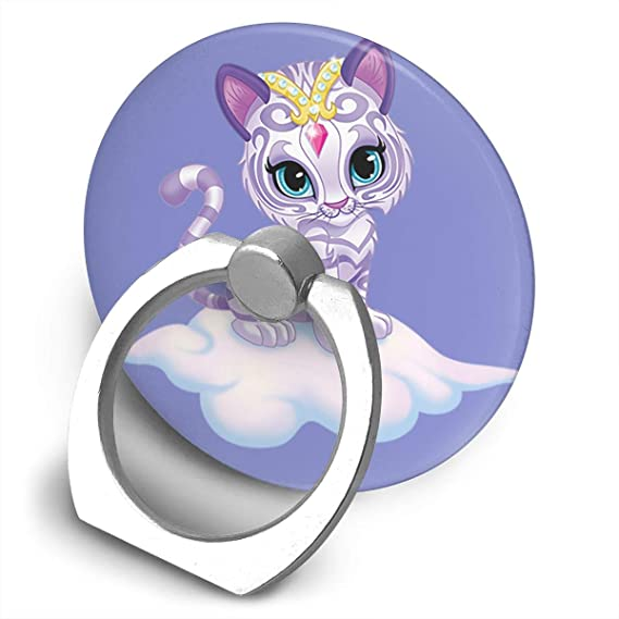 amazon com shimmer and shine cat phone ring holder loop grip
