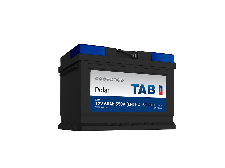 EN TAB Batterie Voitures Polar S D/émarrage S60 L2B 12 V 60AH 550 AMPS