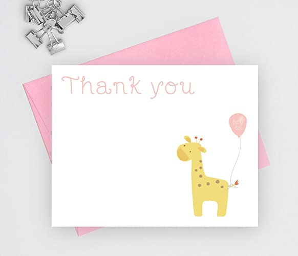 baby shower thank you cards girl baby shower baby shower thank you notes baby