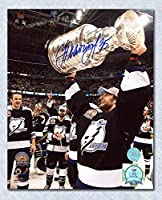 Nikolai Khabibulin Tampa Bay Lightning Autographed 2004 Stanley Cup 8x10 Photo