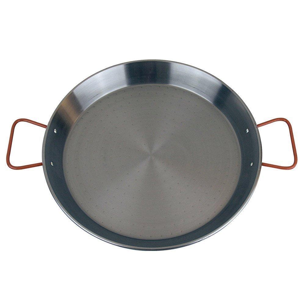 MageFesa Carbon Steel Paella Pan, 28 Inch