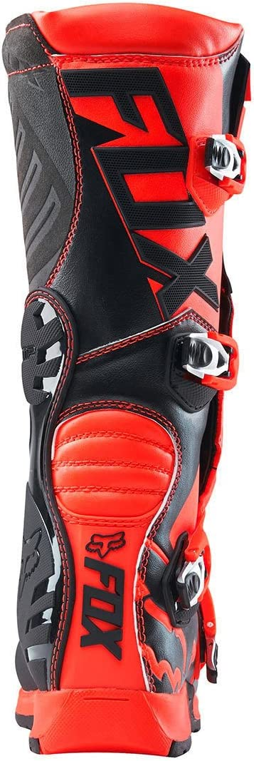 2018 Fox Racing Youth Comp 5 Boots-Black//Pink-Y8