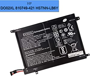 New Replacement Battery DO02XL Compatible with HP DO02XL 810749-421 HSTNN-LB6Y Pavilion X2 10 210 G1 Detachable PC Battery