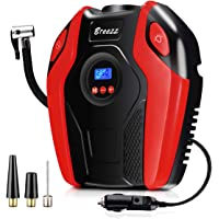 $29 » Breezz Tire Inflator, Air Compressor Pump, 12V DC Portable Auto Tire Pump with Digital Display…