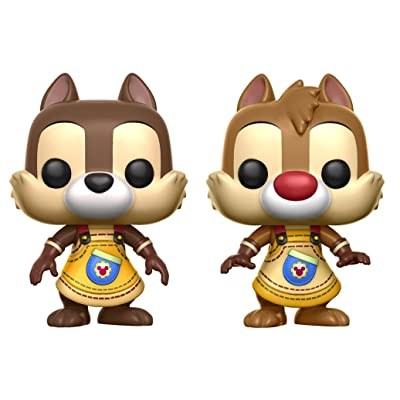 Funko POP Disney: Kingdom Hearts Chip & Dale (2 Pack) Toy Figures: Funko Pop! Disney:: Toys & Games