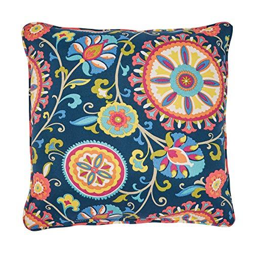 BrylaneHome 16 Sq. Toss Pillow – Granada