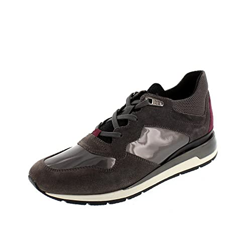 Scarpe Geox Shahira Donna Scarpe Scarpe Basse Sneaker Blu Nuovo