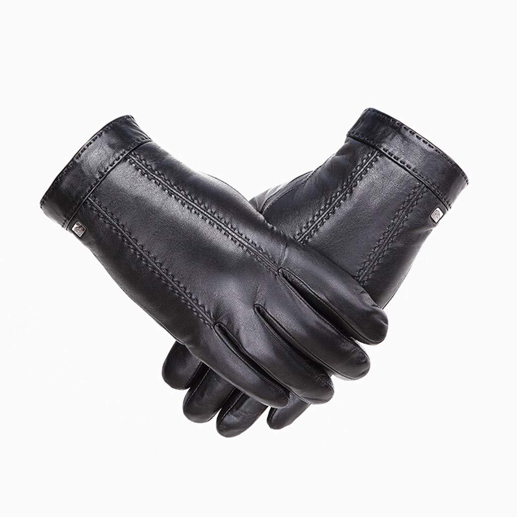DSADDSD Handschuhe männlich, Herbst und Winter warme treibende Radhandschuhe