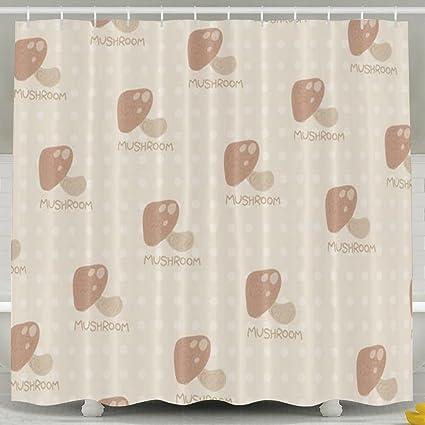 amazon com sxdawl mushroom bathroom shower curtain waterproof thick