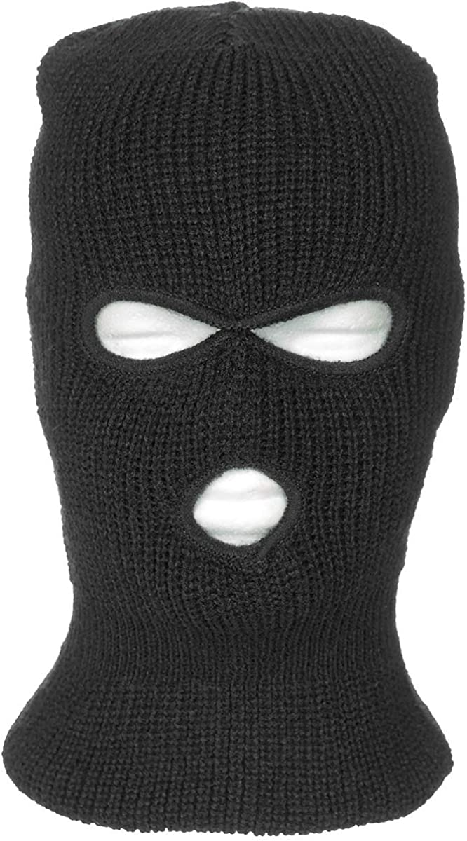 MFH 3-Hole Balaclava Thin Cotton Balaclava Mask Ski Mask Balaclava Many Colours