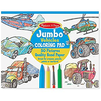 Amazon.com: Melissa & Doug ABC 123 Wild Animals Dot-To-Dot Coloring ...