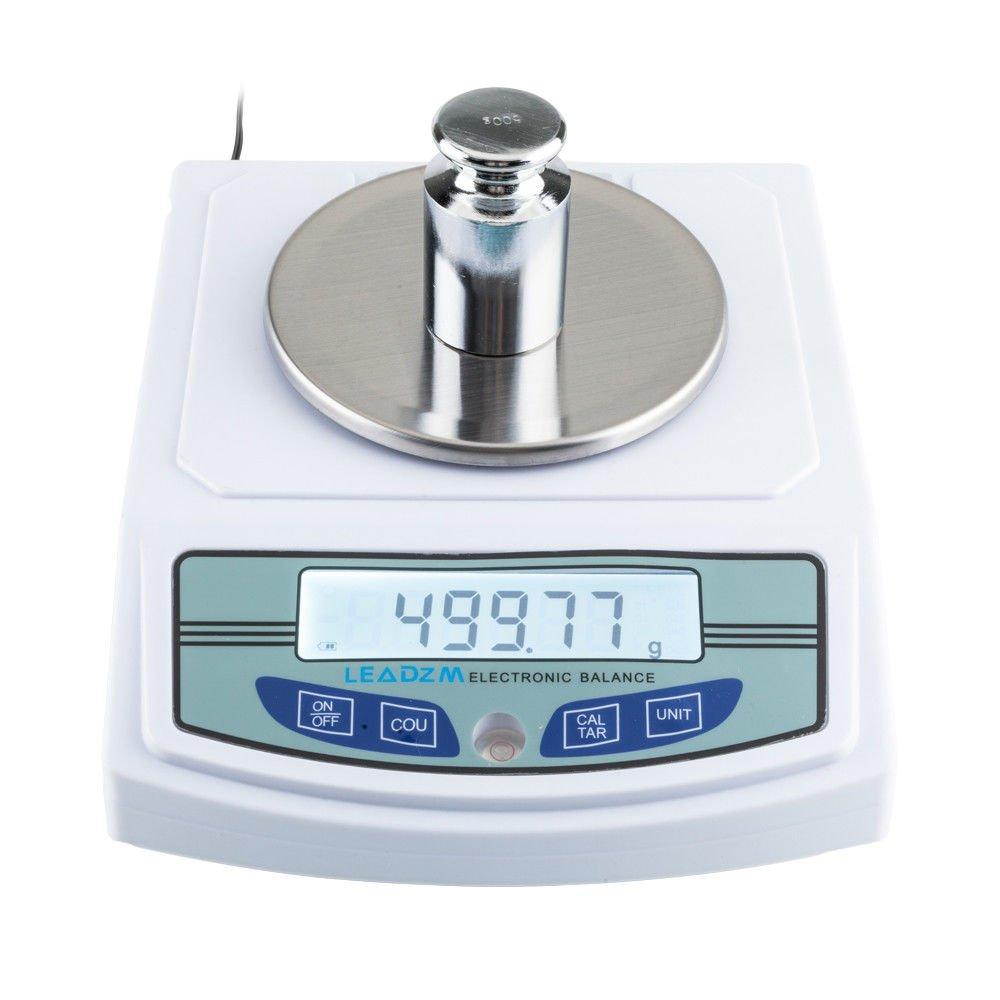 Amazon.com: 3000 G/0,01 G Báscula de laboratorio electrónico ...