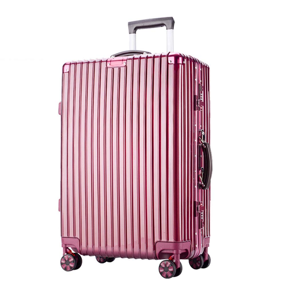 Built-in Password Lock 2 5 Colors YD Luggage Set Trolley case ABS//PC Comfortable Handle Stylish Small Fresh and Bright Aluminum Frame Caster Student Large Capacity Suitcase