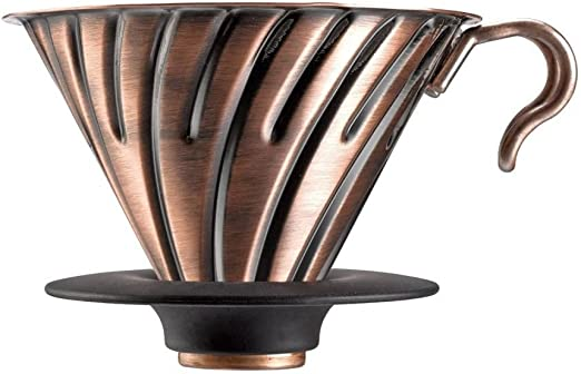 Hario V60 Metal Dripper Coffee Drip 1 to 4 Cups Matt Black VDM-02-MB from JAPAN