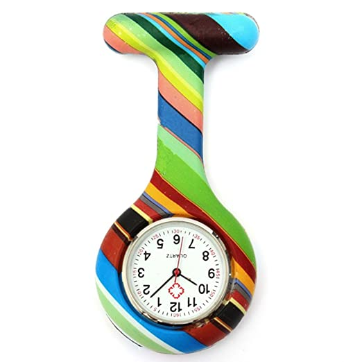 SSITG Hermana Reloj silicona Enfermeras Enfermera Reloj Bata Reloj M. Aguja: Amazon.es: Relojes