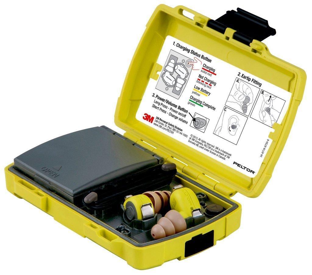 3M Peltor Level Dependent Earplug Kit, LEP-100-EU …