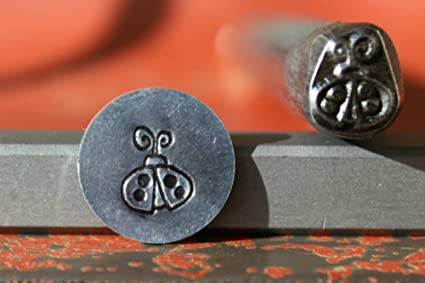 Supply Guy 7mm Ladybug Metal Punch Design Stamp K 15