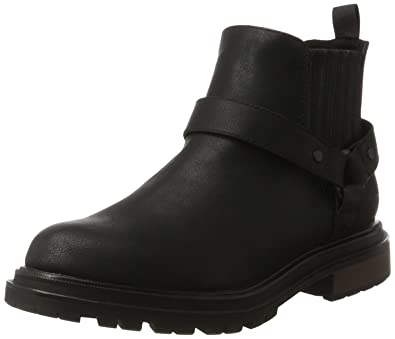 Womens Loki Chelsea Boots, Black Rocket Dog