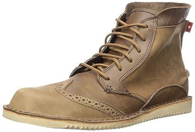 3ee56d9296b Oliberte Men's Baharo Wingtip Lace-Up Boot, Brown/Yellow Pullup, 42 ...