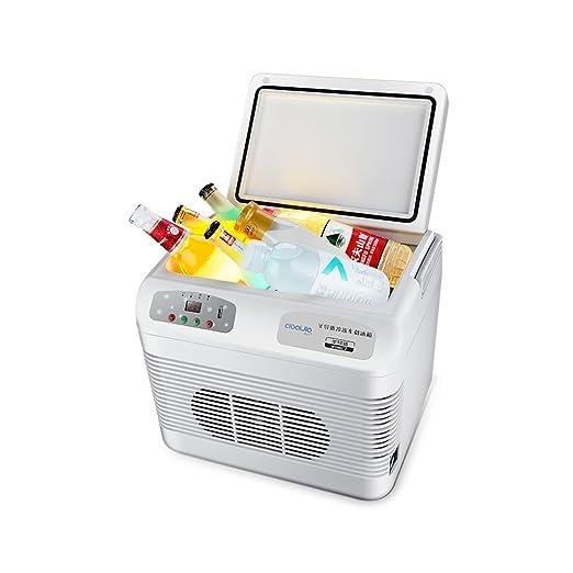 YQQ Refrigerador Congelado Mini del Coche 12L Caja Fría Portátil ...