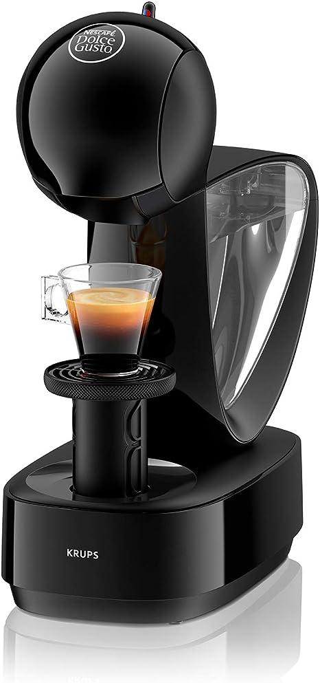 Krups Dolce Gusto Infinissima KP1708 - Cafetera de cápsulas, 15 bares de presión, color negro: Amazon.es: Hogar