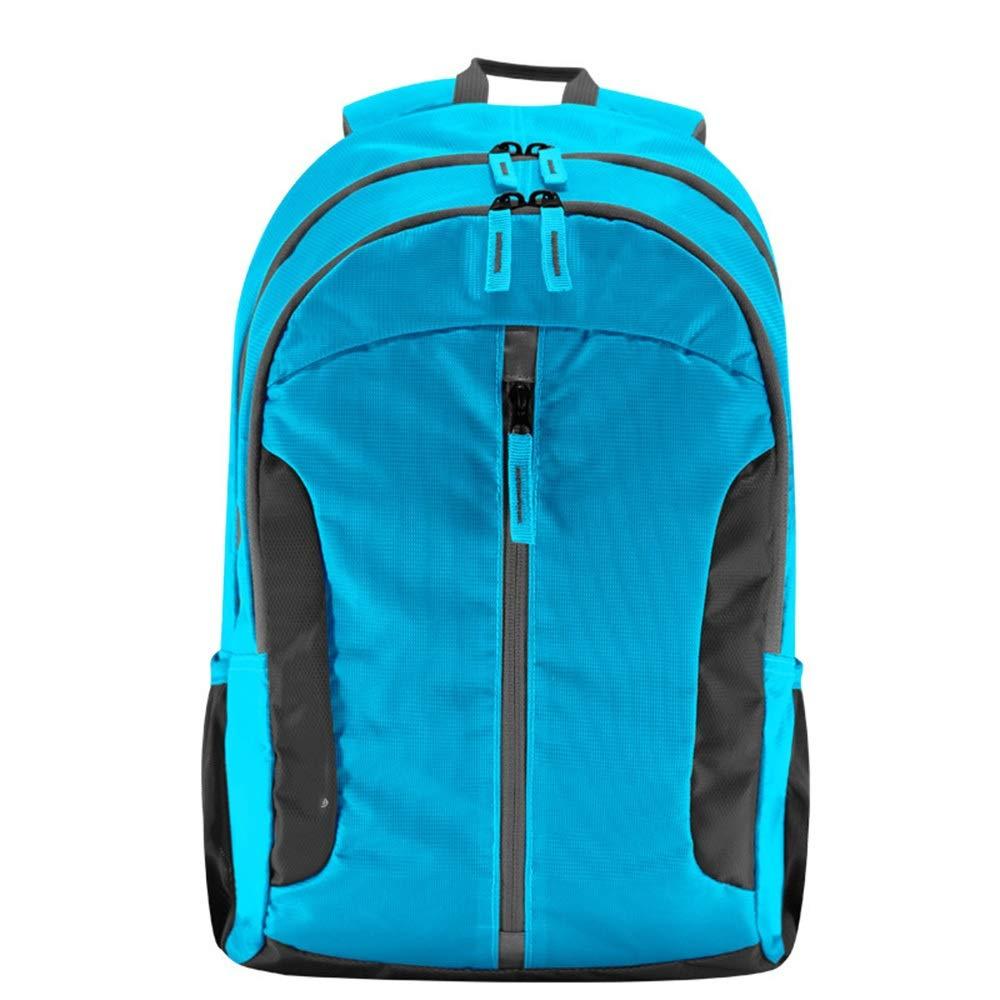 スタイリッシュなミニマリスト屋外クライミングバッグ多機能大容量スポーツバックパックコンピュータバッグトラベルバックパック// 30 * 15 * 47cm いいよ (色 : 青) 青