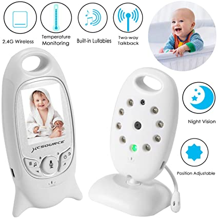 Back To Search Resultshome Improvement 2.4 Inch Wireless Video Baby Monitor Rechargeable Battery Bebe Electronic Nanny Security Camera Night Vision Temperature Monitor Door Hardware & Locks