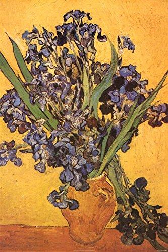 Van Gogh Iris ((24x36) Vincent Van Gogh Les Iris Art Print Poster)