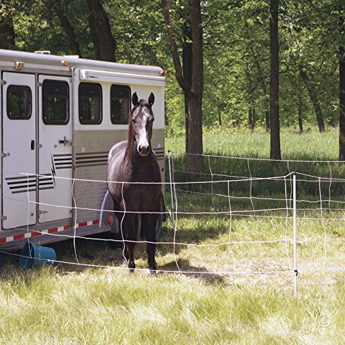 Premier Horse QuikFence 4/48/24-50 ft Horse Electric Netting ()