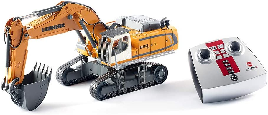 SIKU 6740–Liebherr R 980SME Oruga Excavadora, vehículo controlado por Radio