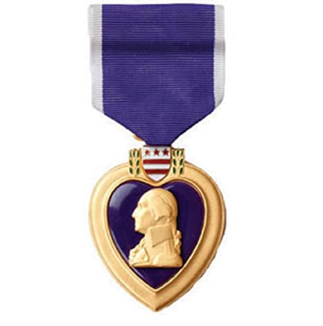 IraGreen Purple Heart Medal (as Issued by The US Military)