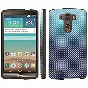 [ArmorXtreme] Designer Image Shell Cover Hard Case (Square Blue Gradient) for LG G3