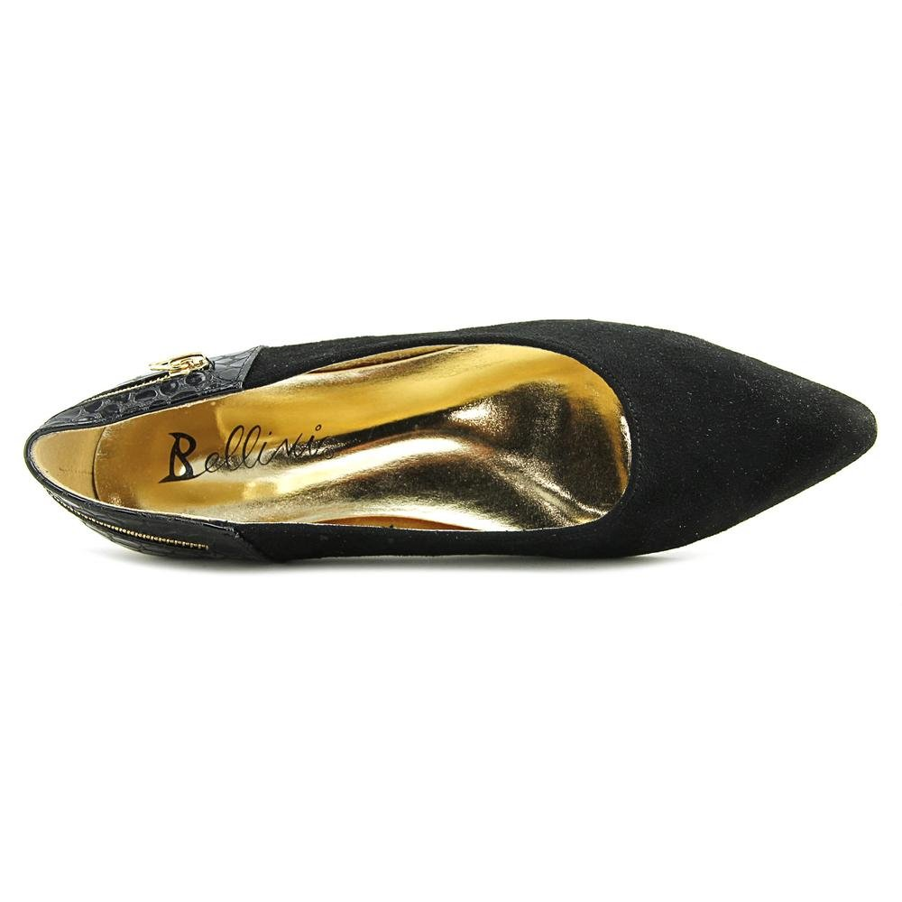 Bellini Women's Nova Flat B015XJ1YKC 8 C/D US|Black Microsuede