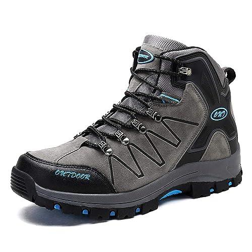 TUCSSON Scarpe da Escursionismo Calzature da Escursionismo da Uomo Donna Scarpe  da Trekking Arrampicata Sportive 73ed0140c6b