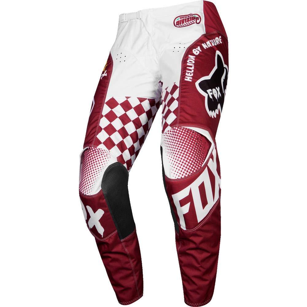 Light Gray Fox Racing 180 Czar Mens Off-Road Motorcycle Pants 36
