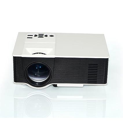 Zantec Apoye el mini proyector del proyector luminoso 1080P HDMI ...