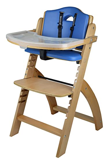 Amazoncom Abiie Beyond Wooden High Chair With Tray The Perfect