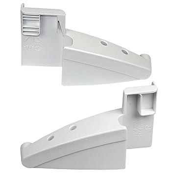 Liebherr Soportes derecho e izquierdo para estante de nevera congelador: Amazon.es: Hogar